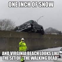Canada Snow Meme - i hear its snowing in the states while all the snow is melting in