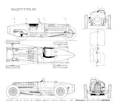 bugatti drawing bugatti type 59 build cyclekart tech forum cyclekart forum