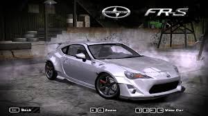 frs scion stance need for speed most wanted scion frs rocket bunny nfscars