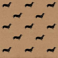 dachshund wrapping paper sausage dog wrapping paper eco friendly kraft gift wrap sheet