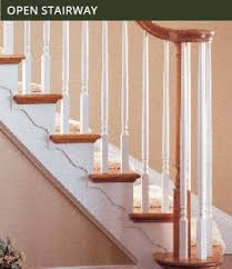 Parts Of A Banister Stairs Stair Parts Newels Balusters And Railings Wm Coffman