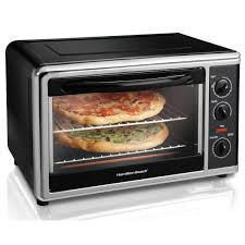 How Long To Cook Hotdogs In Toaster Oven Hamilton Beach Countertop Oven Black 31100