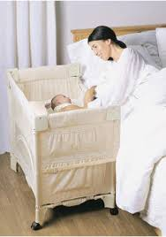 Baby Crib Next To Bed Beside The Bed Bassinet Baby And Nursery Furnitures