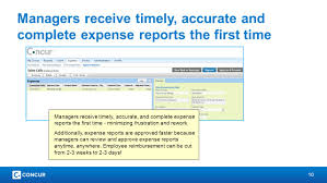 Travel Expense Reports by Concur Travel And Expense Rollout Ppt Video Online Download