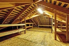 how to install a partial or full floor in the attic for storage
