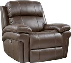 Rooms To Go Sofa by Trevino Chocolate Leather Power Reclining Sofa 1288 0 87w X 41d