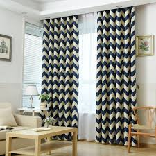 online get cheap striped mediterranean curtains aliexpress com