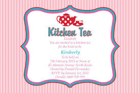 Invitation Cards Messages Retro Tea Time Postcard In Lolly Pink Invitation