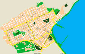 Map Of Crete Greece by City Map Of Sitia Crete Tournet Greece