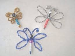 Butterfly Crafts For Kids To Make - crafts for kids how to make a beaded dragonfly or butterfly youtube