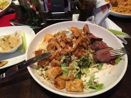 planet cuisine steakhouse salad picture of planet orlando tripadvisor
