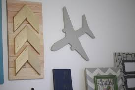 Travel Themed Home Decor by Airplane Wood Cutout Scroll Cut Plane Airplane Wood Sign