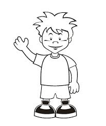 Coloring Page Boy Web Art Gallery Boy Coloring Pages At Coloring Boy Color Pages