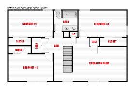 Northvale Floor Plan Ranch Add A Level Packages And Pricing North Jersey Pro Builders