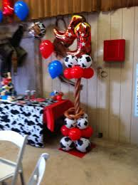 cow print balloons balloon decor of central california home