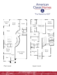 Car Floor Plan Ravenna Seattle Wa New Homes American Classic Homes