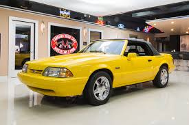 1993 mustang lx for sale yellow 1993 ford mustang lx 5 0 convertible for sale mcg marketplace