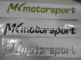 soft chrome car logo pvc chrome lettering custom 3d pvc car