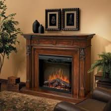 Electric Fireplace With Mantel Top Best Electric Fireplace Mantels Gas Log Guys