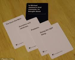 cards against humanity for sale cards against humanity sold 30 000 boxes of cow to protest