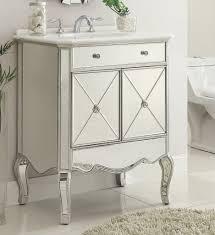 Hammered Silver Bathroom Sink Chans Furniture Mf3 5106sc Adelisa 30 Inch Silver Bathroom Silver