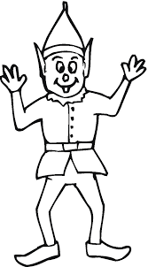 elf coloring pages getcoloringpages com