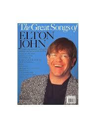 Country Comfort Elton John The Great Songs Of Elton John Piano Vocal U0026 Guitar Sheet Music