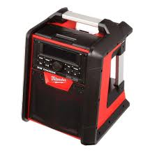 milwaukee m18 jobsite radio charger 2792 20 the home depot