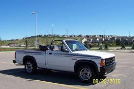 Dodge Dakota Race Truck - convertible pickup survivor 1990 dodge dakota