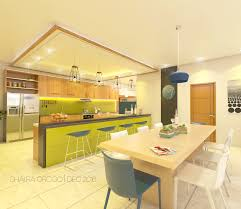 Sketchup Kitchen Design Kitchen Dining Interior Four Srorey House Navotas Philippines