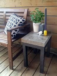 diy concrete side table diy concrete concrete and concrete table