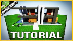 Modern House Minecraft Minecraft Modern House Tutorial Block By Block Best Simple