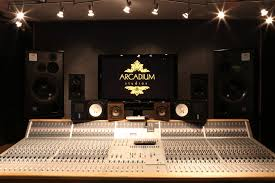 Studio Mixer Desk by Audient Asp 8024 Mixing Console Arcadium Studios In Notting Hill