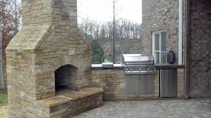 outdoor fireplaces custom hardscapes llc