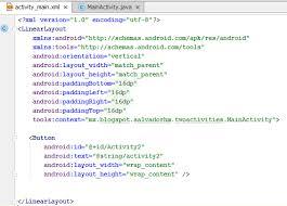 layout en español como se escribe hello world desarrollo en android pasar de un activity a otro