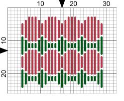 3 free christmas stocking ornaments needlepoint designs