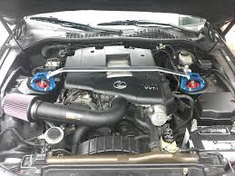 lexus gs400 v8 k u0026n intake from a gs400 on my sc400 finally its been done with a