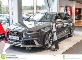 audi germany audi rs 6 avant editorial image image of germany model 60731555