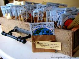 cheap seed packets wedding favors for a wedding http