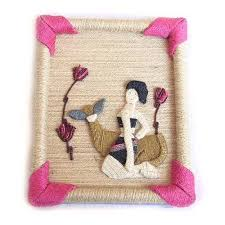 handicrafts for home decoration hemp wall hanging wall arts picture handicrafts home decor id