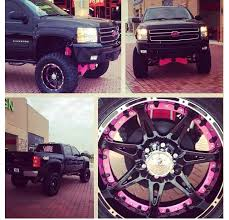 Truck Wheel And Tire Packages Lifted Truck Black And Pink Omg Need Wheel Tire Packages Wheel
