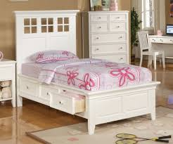 Cottage Style White Bedroom Furniture Bedroom Trendy Cottage Style White Finish Wood Kids Full Panel