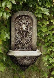 best 25 outdoor wall fountains ideas on