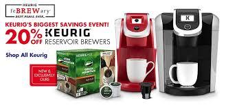 best keurig coffeemaker deals black friday save 20 on keurig reservoir brewers at bed bath u0026 beyond nerdwallet