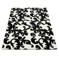 Damask Print Rug Damask Rug Black And White Rug Designs