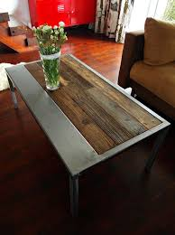 Rustic Metal Coffee Table Rectangular Metal Coffee Table Awesome Rectangular Cocktail Table