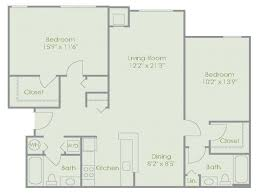 rosewood floor plan 2 bed 2 bath apartment in windsor mill md reserve at stonegate