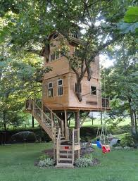 how to build a two story house a two story treehouse treehouse treasures pinterest