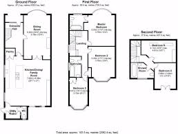 Ground Floor 3 Bedroom Plans 3 Bed House Floor Plan Rear Extension Google Search Kitchens