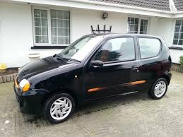1999 fiat seicento 1 1 sporting black orange in belfast city